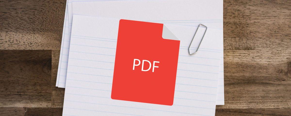 קובץ PDF דינאמי